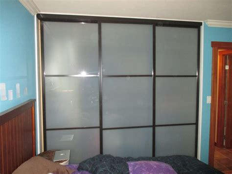 Three Track Sliding Closet Doors 1000 Images About 3 Panels 3tracks Aluminum Frame Sliding