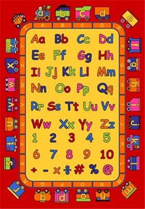 educational area rugs children s classroom school educational area rugs non skid gel rug abc ebay
