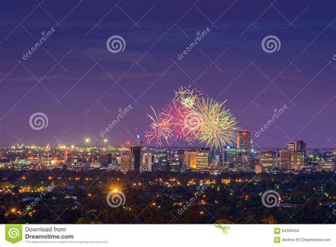new year fireworks adelaide adelaide fireworks stock photo image 64399450
