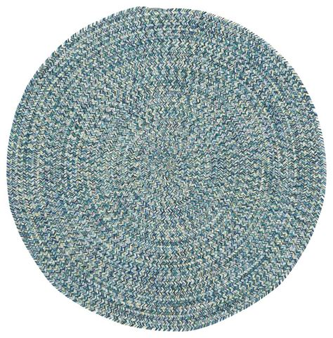 Blue Braided Rugs by Sea Pottery Braided Rug Blue 3 Area Rugs By