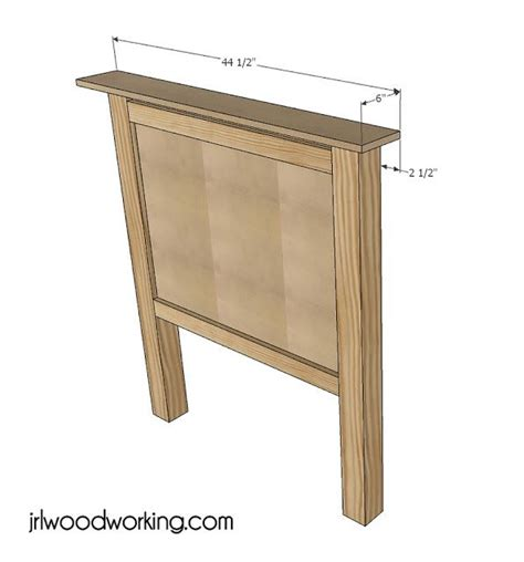 simple headboard plans ana white build a twin bed beadboard headboard free