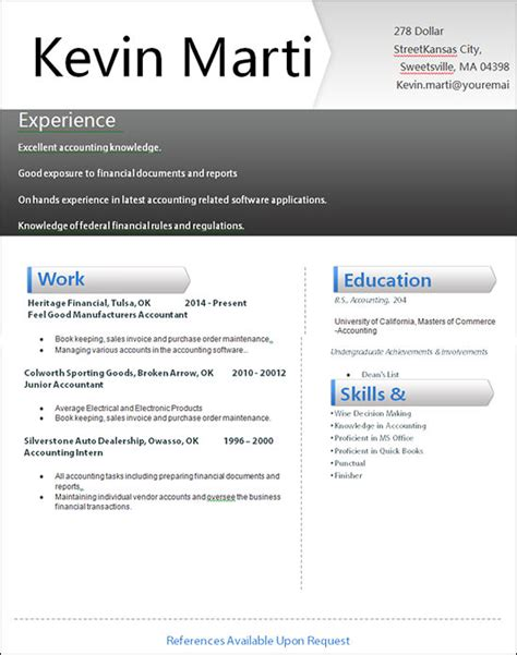 Sample Resume Objectives For Librarians by 25 Creative And Simple Resume Examples Creative Resume