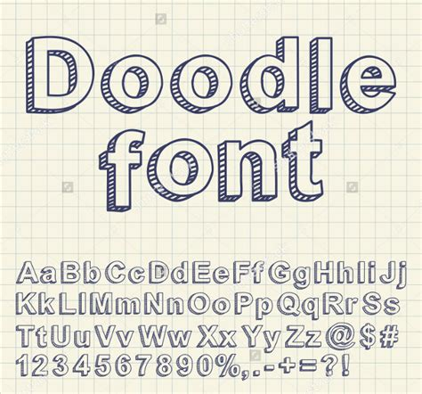 how to use doodle text 21 doodle fonts ttf otf design trends