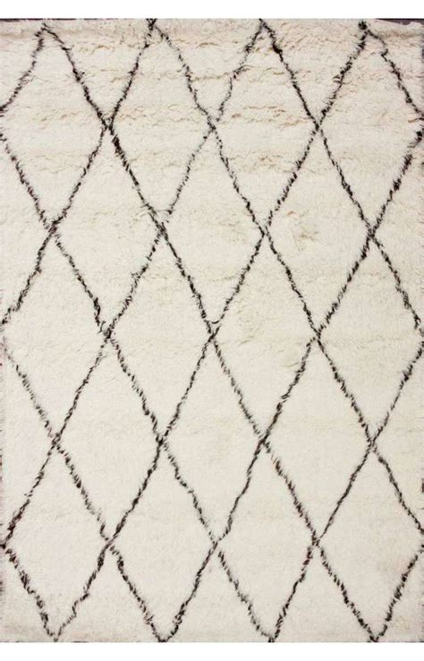 moroccan pattern rug moroccan beni ourain style wool rug at 1stdibs
