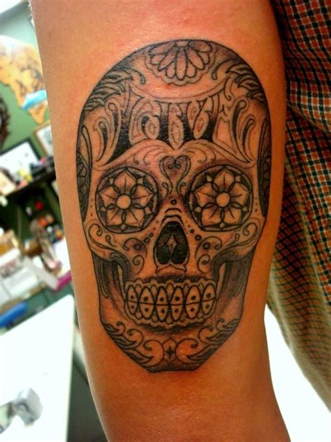 sugar skull sleeve tattoo designs sugar skull sleeve designs pictures to pin on