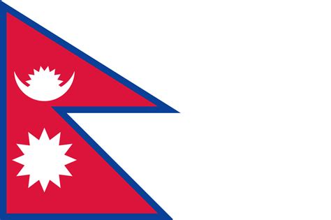 flags of the world nepal nepal flag bing images