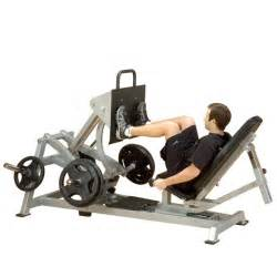Olympic Weights Bench Body Solid Leverage Horizontal Leg Press Machine Lvlp