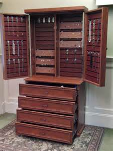 Jewelry Storage Cabinet Jewelry Cabinet Traditional Closet New York By Rylex Custom Cabinetry And Closets