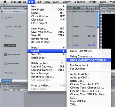 file format quicktime what is the file extension for a movie export with quicktime