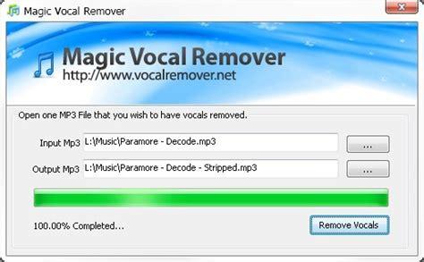 karaoke software vocal remover full version free download download magic vocal remover from files32 audio