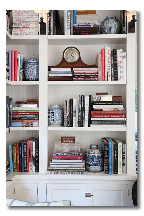 Ashley Whittaker Design by Lessons In Design Bookshelf Styling Fieldstone Hill