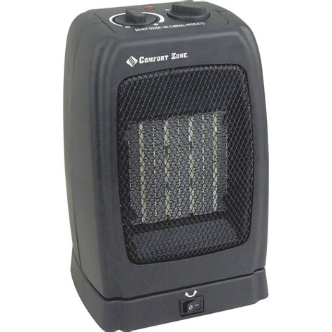 comfort zone heater comfort zone oscillating ceramic heater howard berger