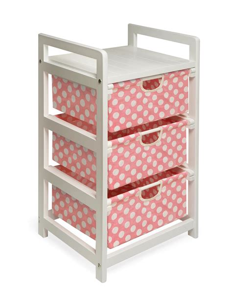 badger basket 11900 three drawer her storage unit