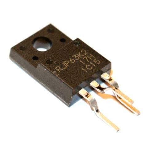 Rjp63k2 To 220 63k2 To220f rjp63k2 silicon n channel igbt 630v to220f rcs elekronik
