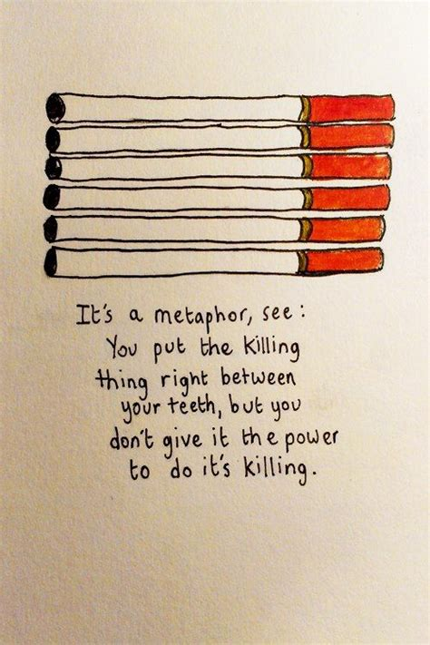 augustus does his bit books the fault in our stars quotes quot it s a metaphor quot the