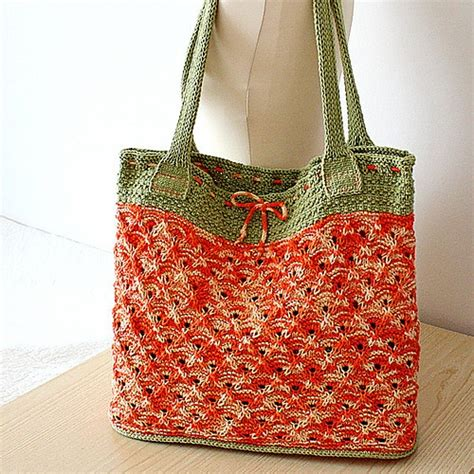 tote bag knitting pattern 207 best knit hand tote bags images on pinterest knit