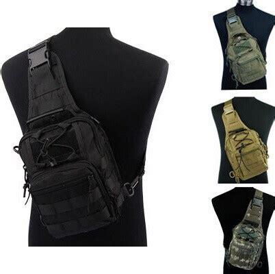 Tas Salempang Tactical Sling Bag Autdoor Shoulder Messenger Bag Import popular molle sling backpack buy cheap molle sling