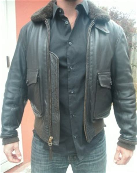 Gibson Barnes Gibson Amp Barnes Size 38 Navy G1 Jacket For Sale The