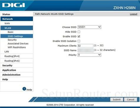 Wifi Digi setup wifi on the zte zxhn h298n digi szandras23