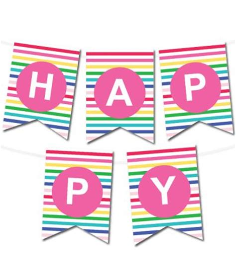 printable birthday banner maker 632 best images about rainbow party theme on pinterest