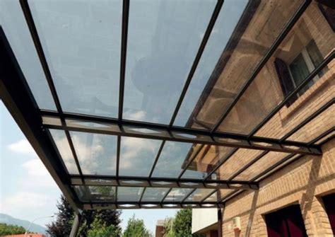 tettoie in ferro e policarbonato tettoie per esterni per terrazzi balconi auto finestre