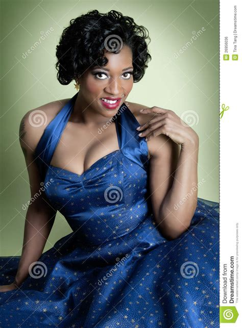 pin up for african americans african american pinup model royalty free stock image