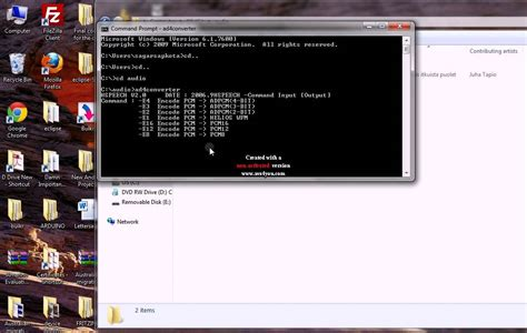 format file youtube convert a wav file to ad4 format file using command prompt
