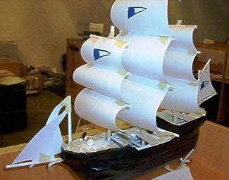 how to make a paper boat no tape file model ship made with paper jpg wikimedia commons