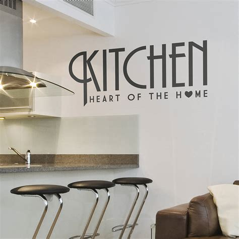 wall sticker for kitchen kitchen wall sticker of the home by oakdene