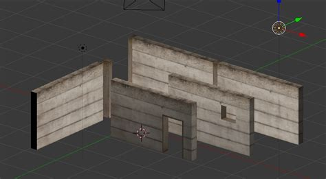 blender tutorial walls modular walls with blender for unity jayanam gamedev