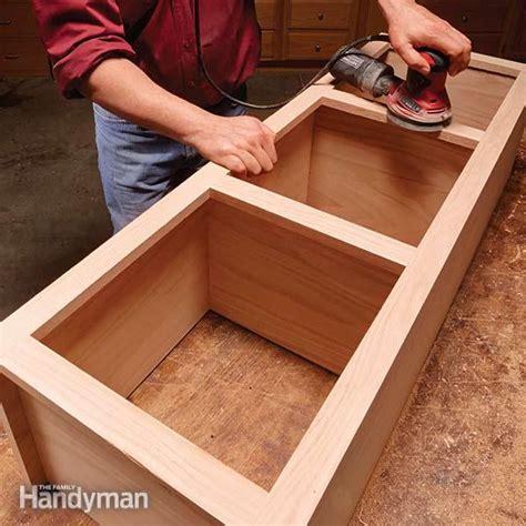 face frame cabinet building tips  family handyman