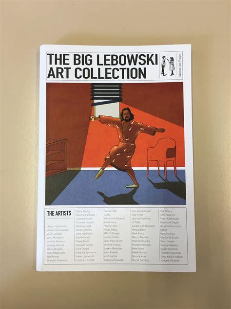 libro the big picture the big lebowski art collection un libro di illustrazioni sul film cult