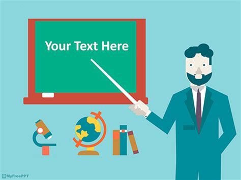 free animated powerpoint templates for teachers free education powerpoint templates myfreeppt