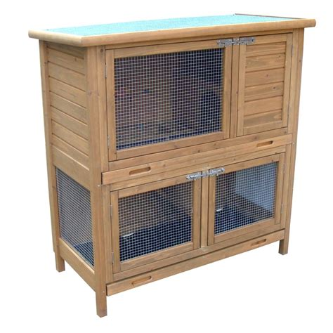 Hutches For Guinea Pigs Rabbit Shack 115cm Flat Pack Small Guinea Pig Hutch With