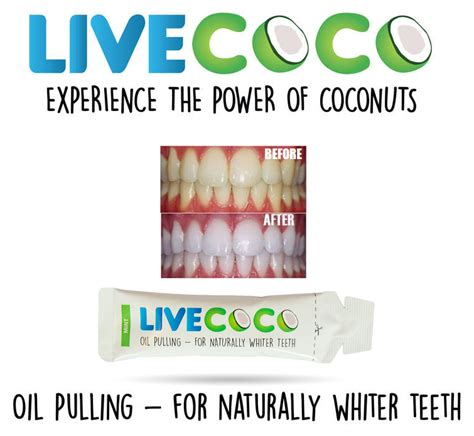 livecoco mint coconut oil pulling kit  teeth whitening