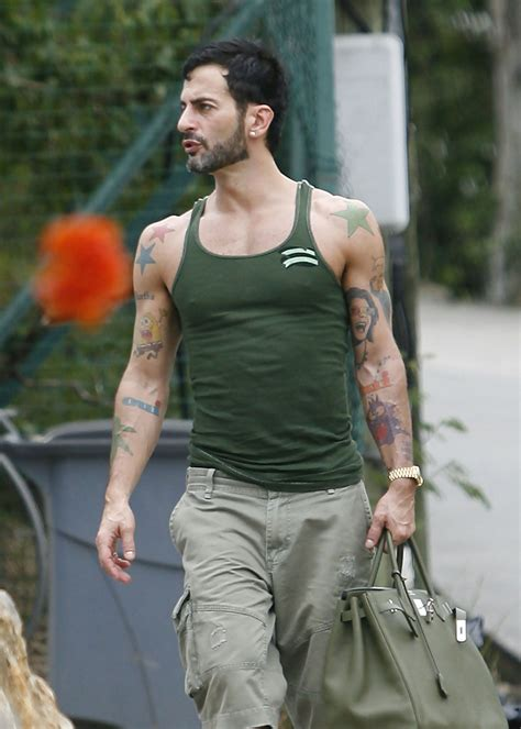 marc jacobs tattoos marc lettering marc looks stylebistro