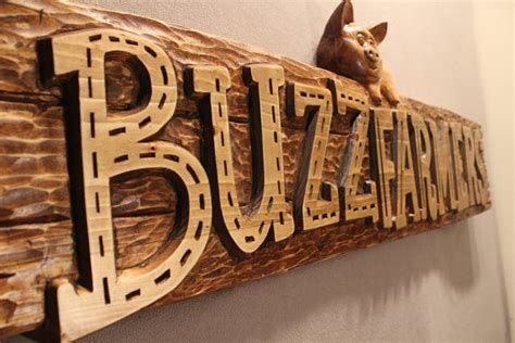 Handmade Wooden Sign - wooden signs handmade signs carved signs business signs