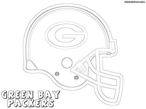 green bay packers coloring pages bing images