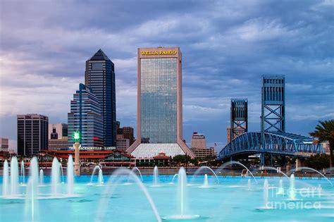 Garden City Jacksonville Fl Jacksonville Florida City Skyline At The Friendship Park