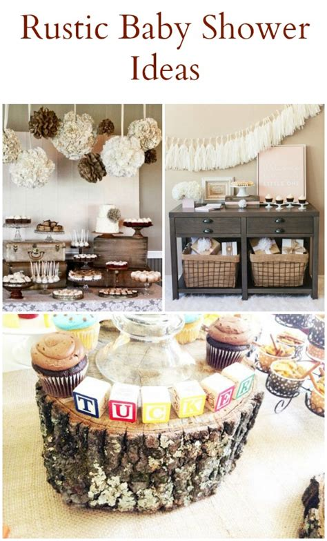 Rustic Baby Shower Theme by 20 Rustic Baby Shower Ideas Rustic Baby Chic