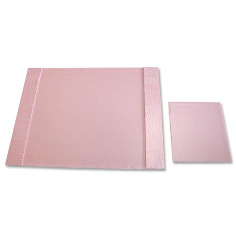 Pink Desk Pad by Quickship