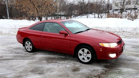 99 Toyota Solara 2001 Toyota Camry Solara Coupe Specifications Pictures
