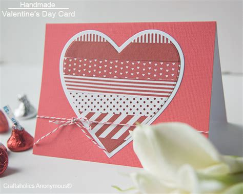 Handmade Valentines Cards Ideas - craftaholics anonymous 174 handmade ideas using