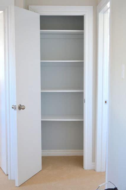 How To Build A Linen Closet by How To Build Update A Linen Closet Doors Trims Walls