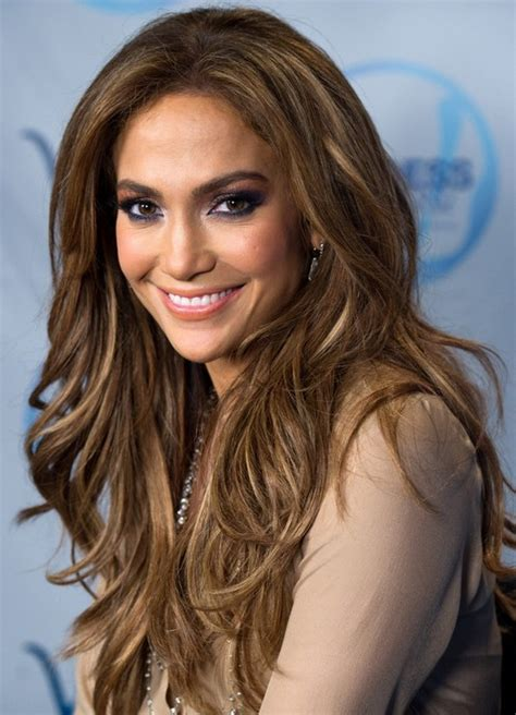 jennifer lopez long hairstyles layered hairstyle