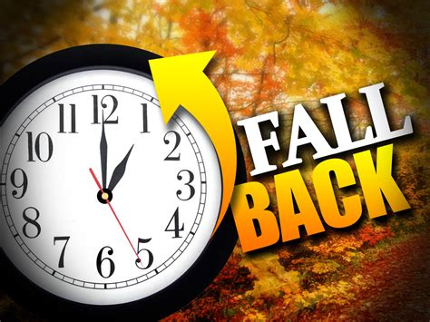 When Is Day Lights Savings by Are You Ready To Fall Back This Sunday Nov 6 Dst Ends