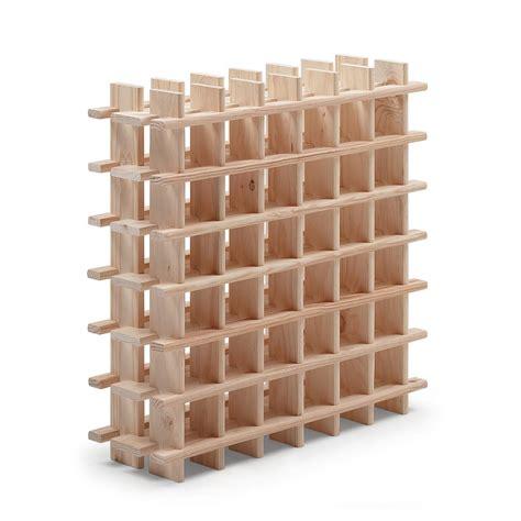 Incroyable Casier Bouteille Cuisine Ikea #1: casier-36-emplacements-bois-brut.jpg