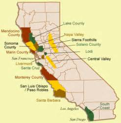 amador county california map haraszthy zinfandel amador county california