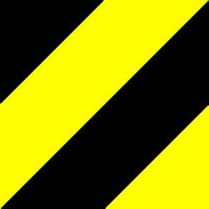 Flower Pattern Vector - kostenlose vektorgrafik muster schwarz gelb warnung