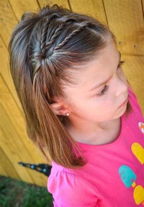 cute hairstyles pulled back pull her hair out of her face cute back to school